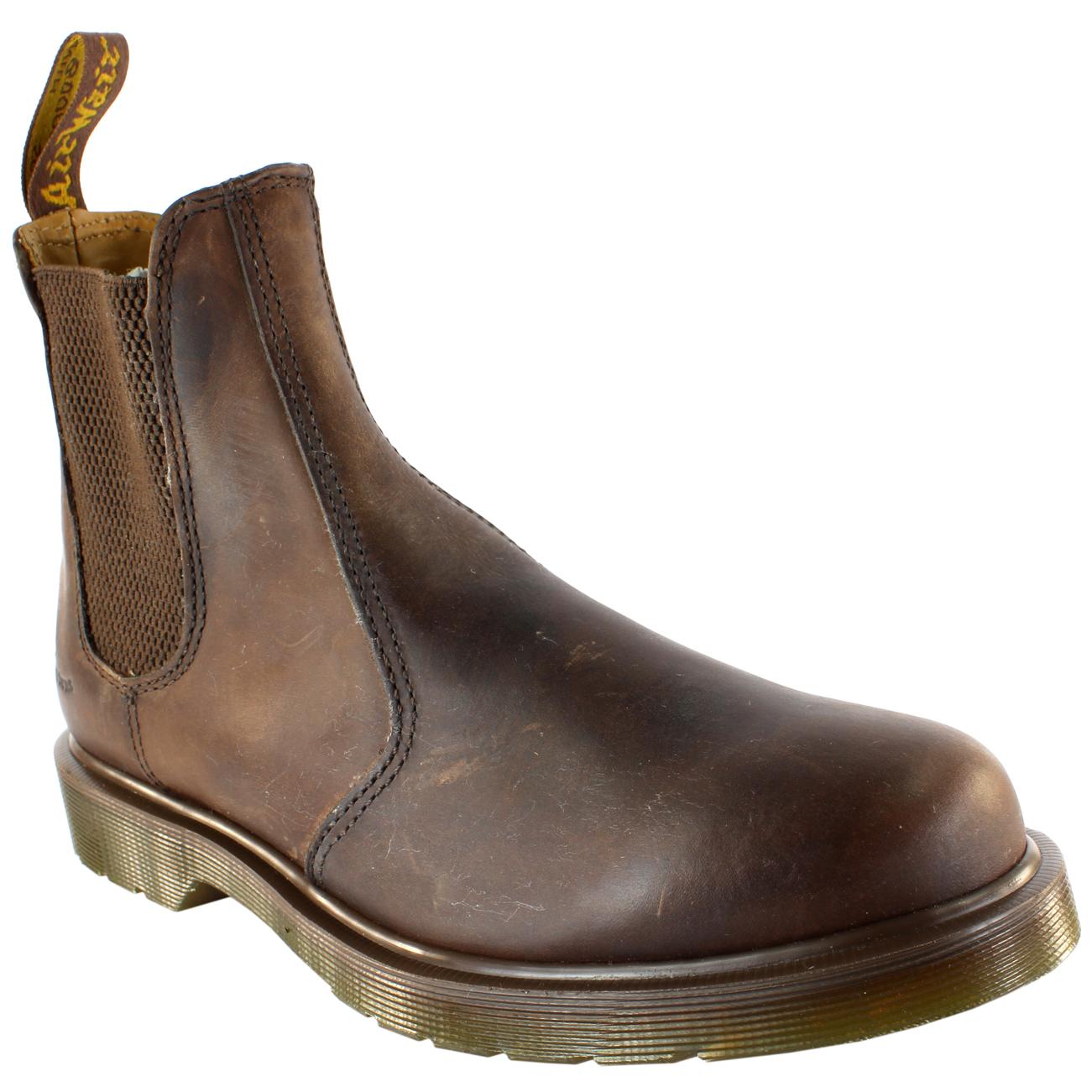 Womens Dr Martens Airwair Leather Chelsea Boot Low Heel ...