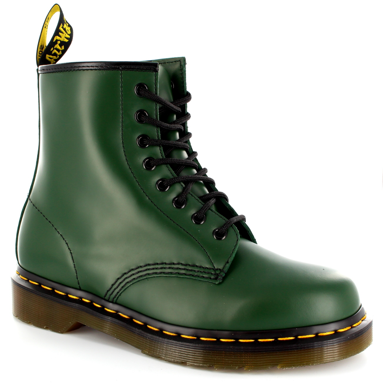 Womens Dr. Martens 1460Z 8 Eyelet Smooth Leather Oxford Combat Army ... 4c8750a65