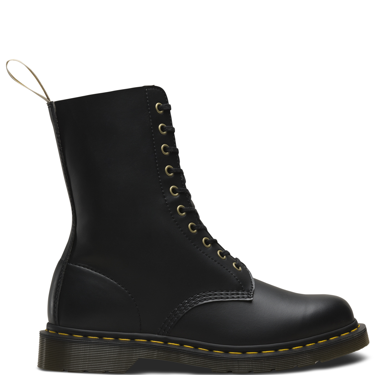 e54f389535b5 Unisex Adults Dr Martens 1460 Vegan Originals Punk Work Mid Calf ...