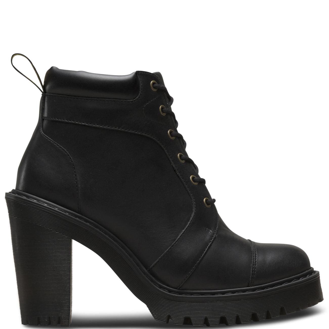 Details about Womens Dr Martens Averil Fusion Seriene Originals Block Heel  Ankle Boot US 5-11 c810409295c4