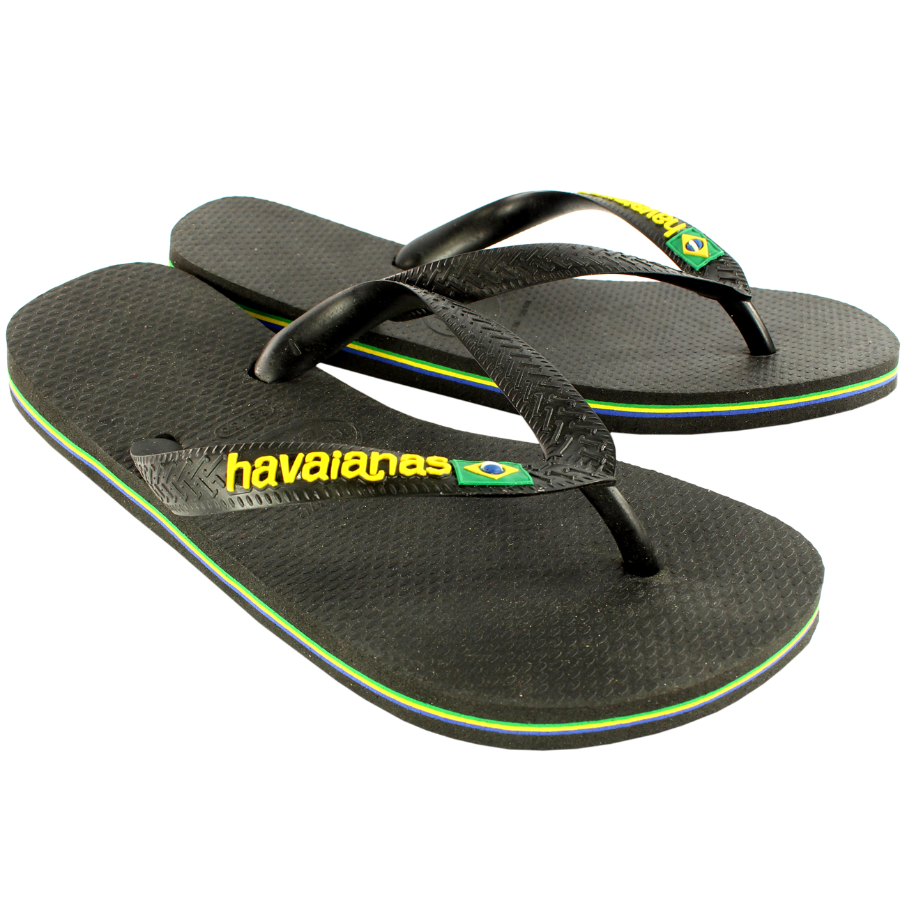 womens havaianas flip flops original box brazil brasil logo ladies sandals 4 9 ebay. Black Bedroom Furniture Sets. Home Design Ideas