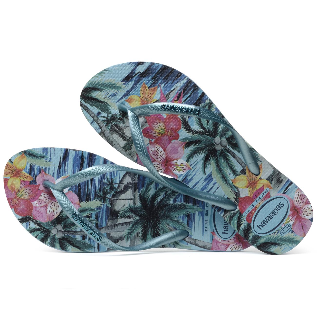 Havaianas Mince Splash Bleu Tropical XlKCVLfR