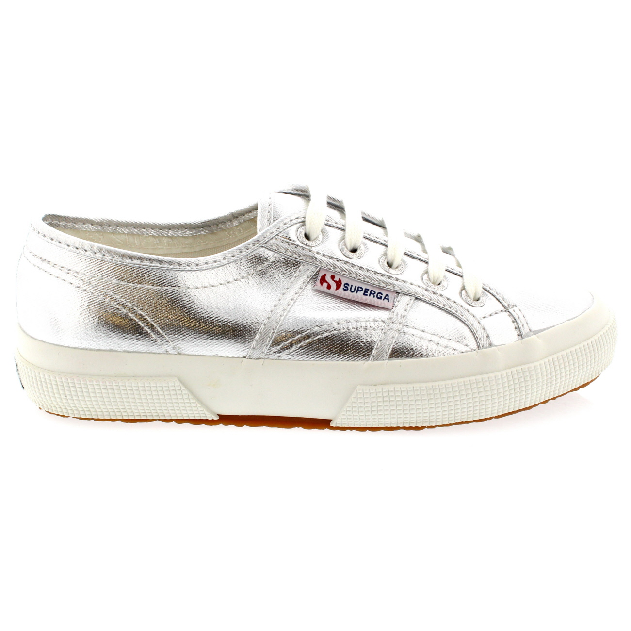 Superga Metallic Low-Top Sneakers