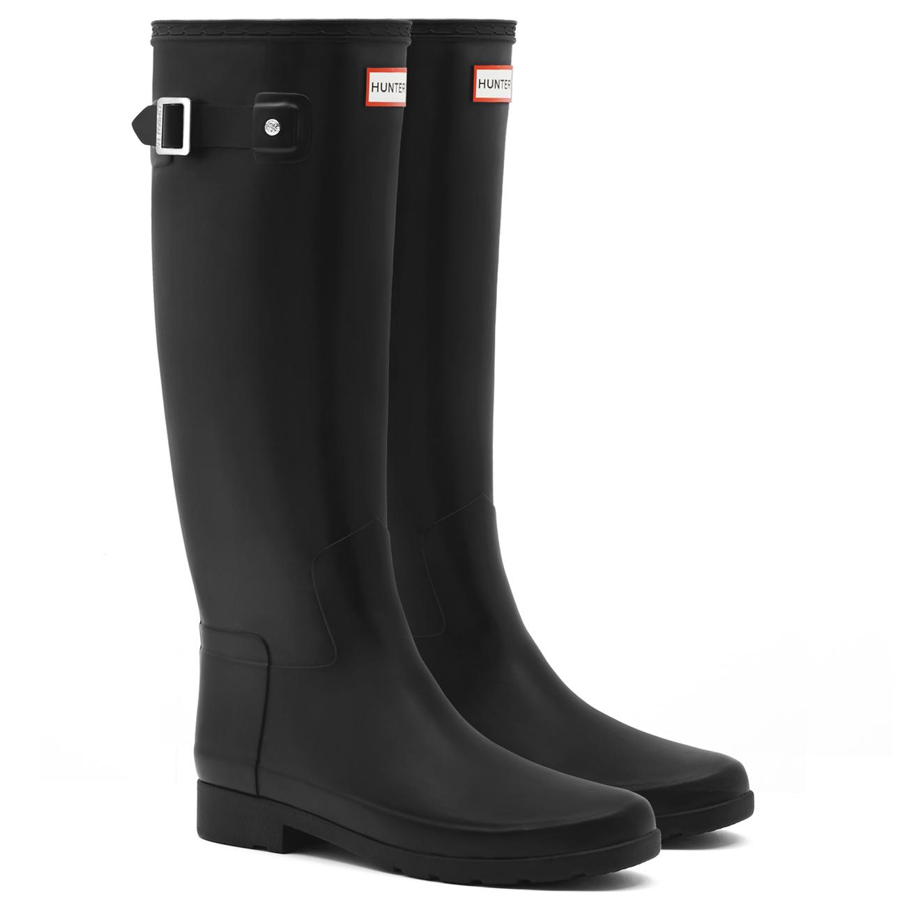 10e4513fb Womens Hunter Original Refined Waterproof Snow Wellingtons Rain ...