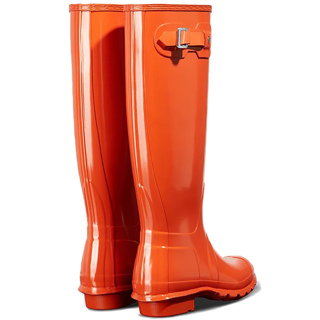481f8dcdda96 Womens Hunter Original Tall Gloss Waterproof Rubber Rain Boot ...