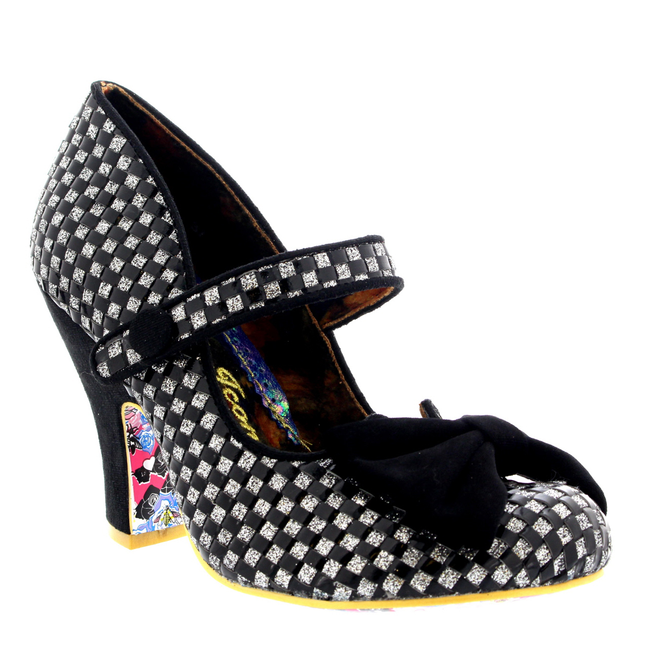 Damenschuhe Irregular Choice Fancy Schuhe This Strappy Party Court Schuhe Fancy High Heel US 5.5-11 b51df4