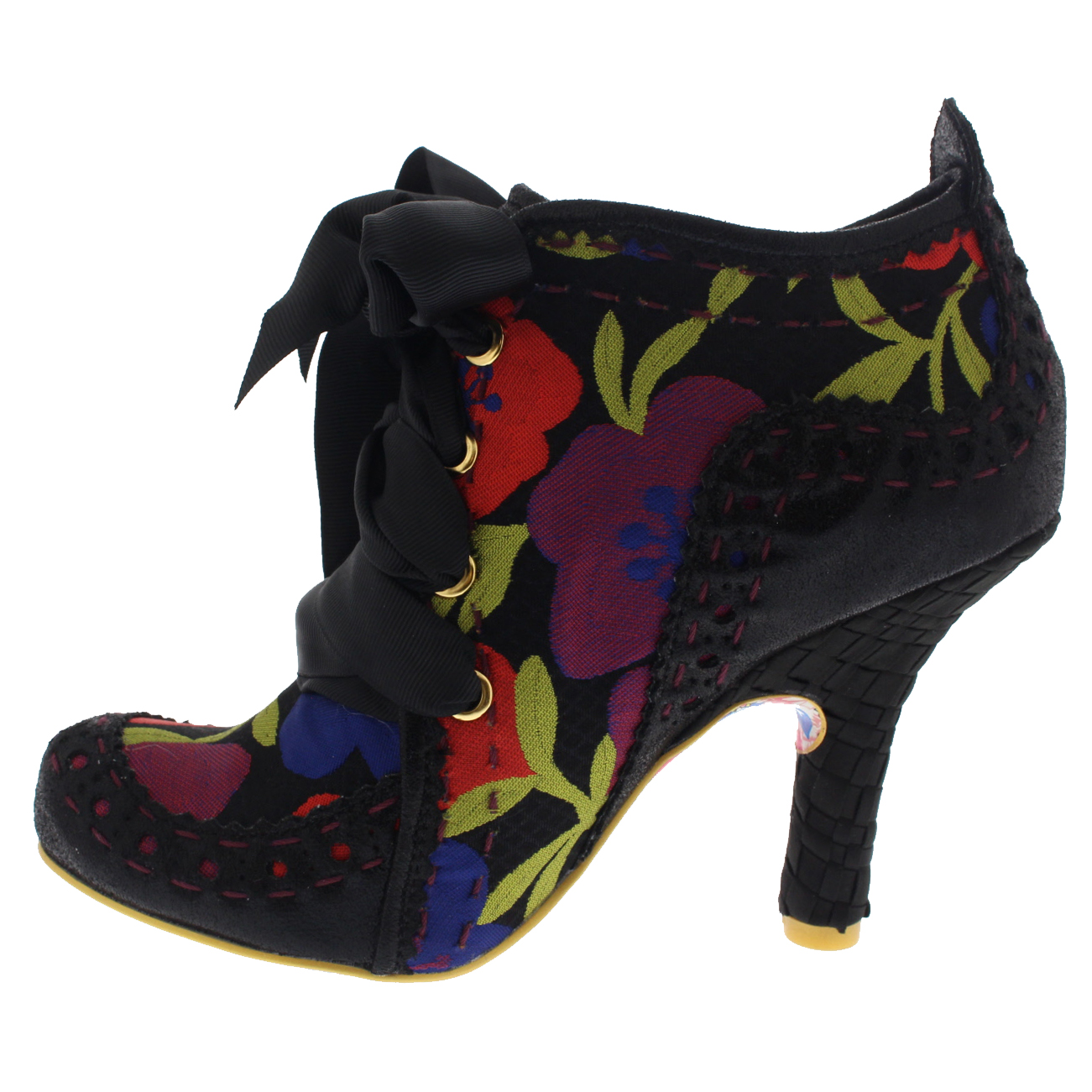 967ce5b9c7ec5 Womens Irregular Choice Abigails Third Party High HEELS Ankle BOOTS ...