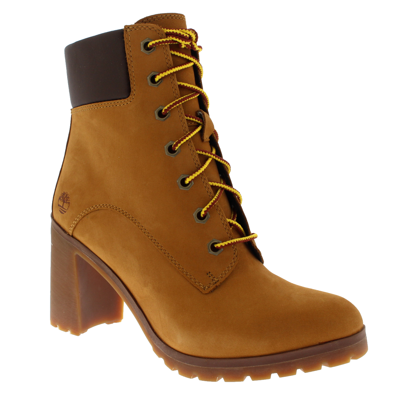 d405b5955c4 Womens Timberland Arllington 6 Inch Lace Fashion Block Heel Ankle ...