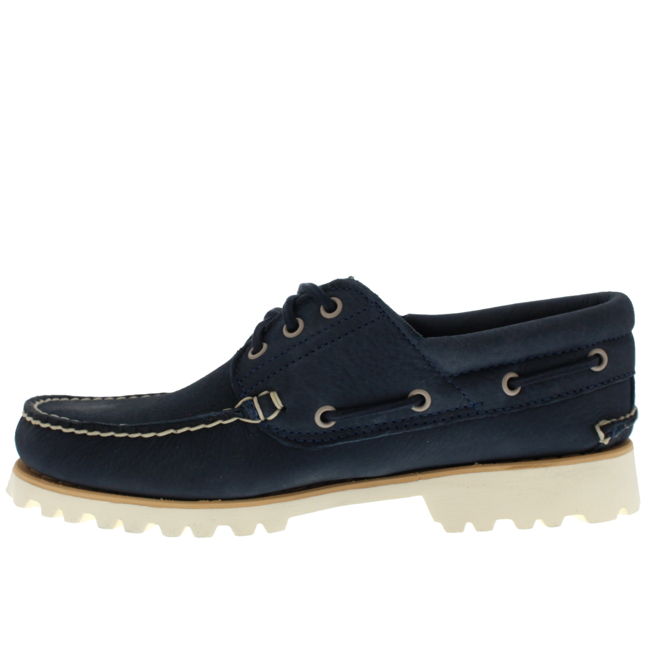 9750fea178e Details about Mens Timberland Chilmark 3 Eye Hand Casual Leather Moccasins  Shoes US 7.5-13.5
