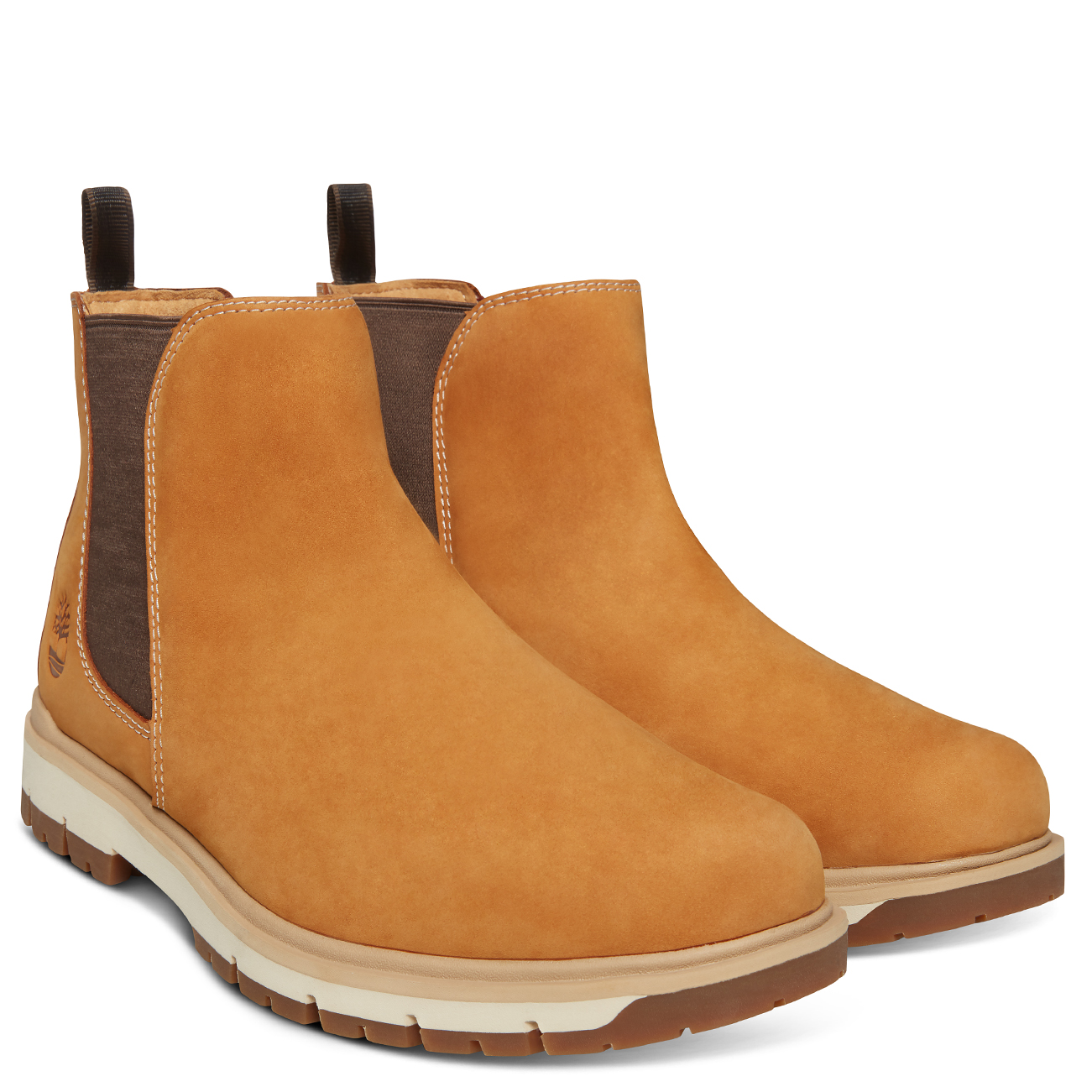 d830ca99ffc6 Mens Timberland Radford PT Chelsea Hiking Leather Walking Ankle Boot ...