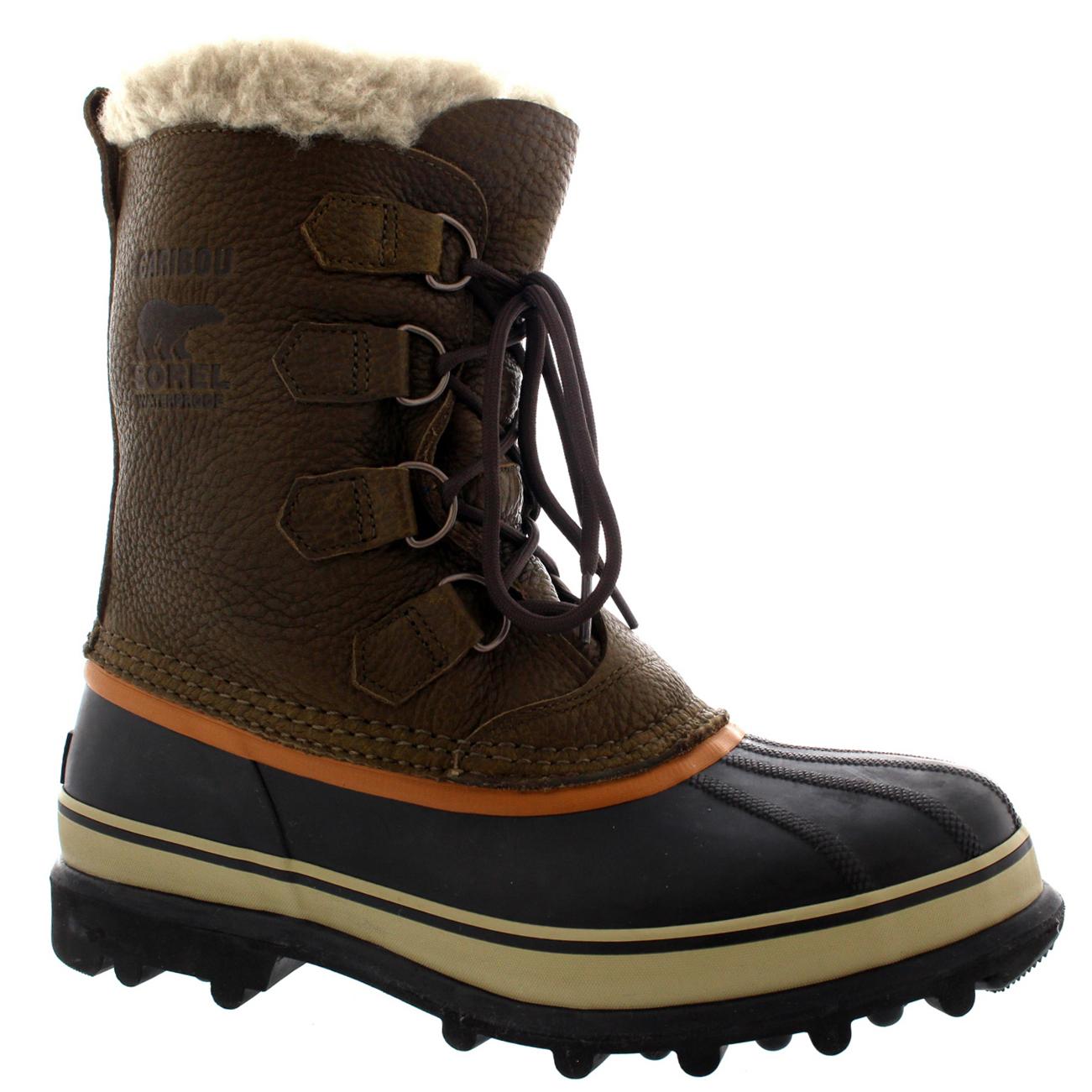 Black Winter Shoes Mens Fur