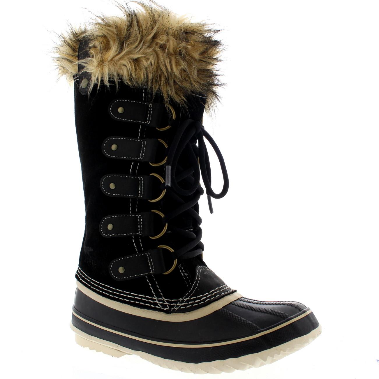 womens sorel joan of arctic snow waterproof winter boots. Black Bedroom Furniture Sets. Home Design Ideas