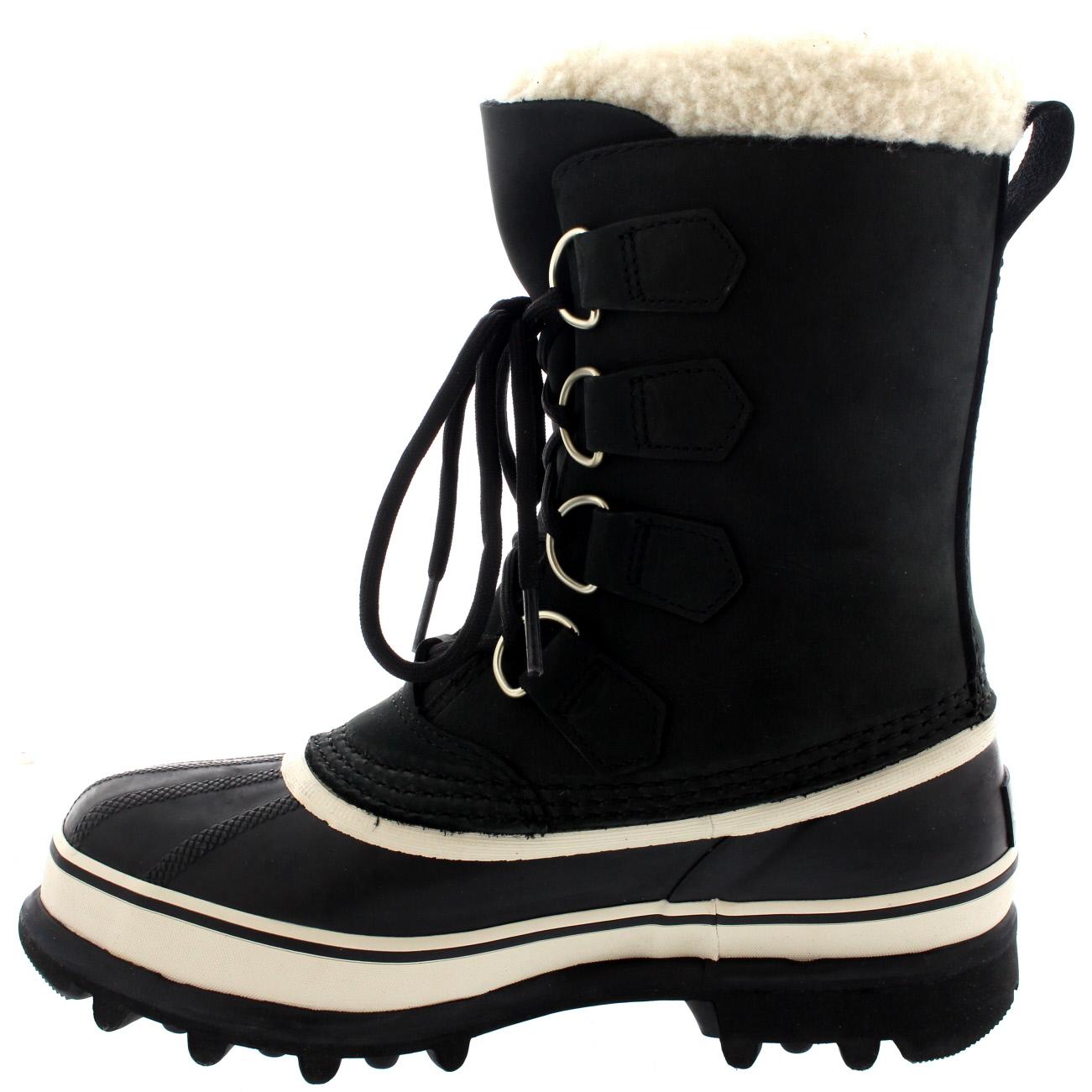 Womens Sorel Caribou Snow Waterproof Winter Fur Lined Mid Calf Rain ... 4dcd7281e7
