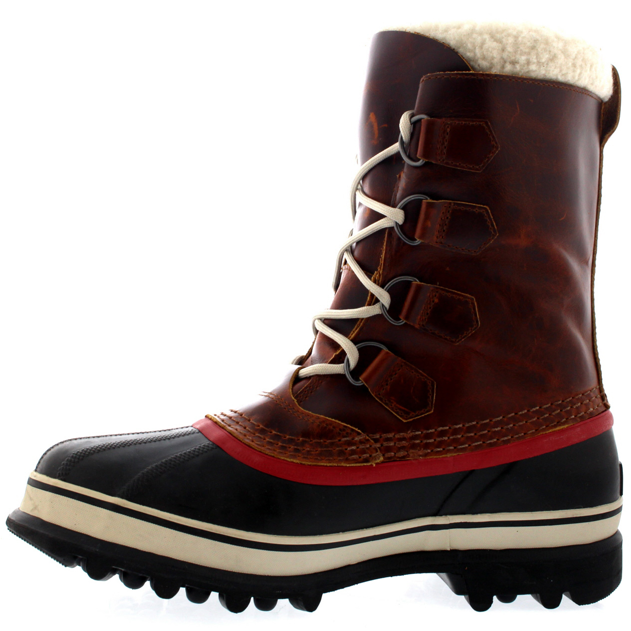 Uomo Sorel Caribou Fleece Lined Snow Snow Snow Mid Calf Winter Waterproof Stivali   8-13 0ef762