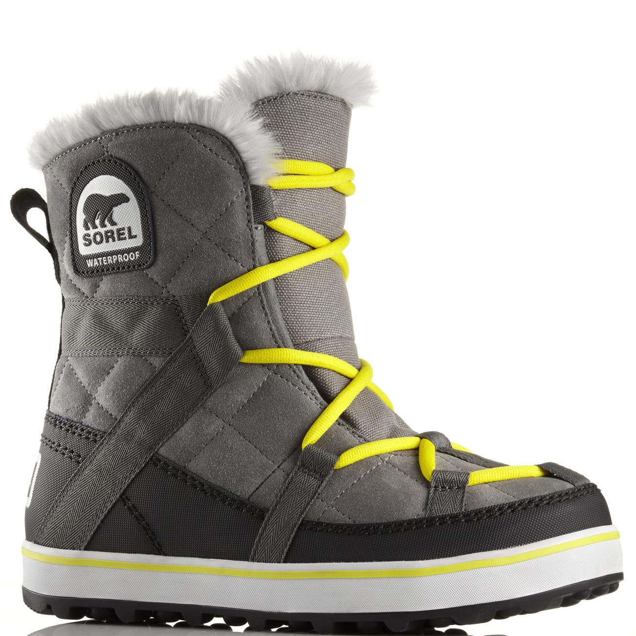 c3eb031ec79a Womens Sorel Glacy Explorer Shortie Waterproof Snow Hiking Winter ...