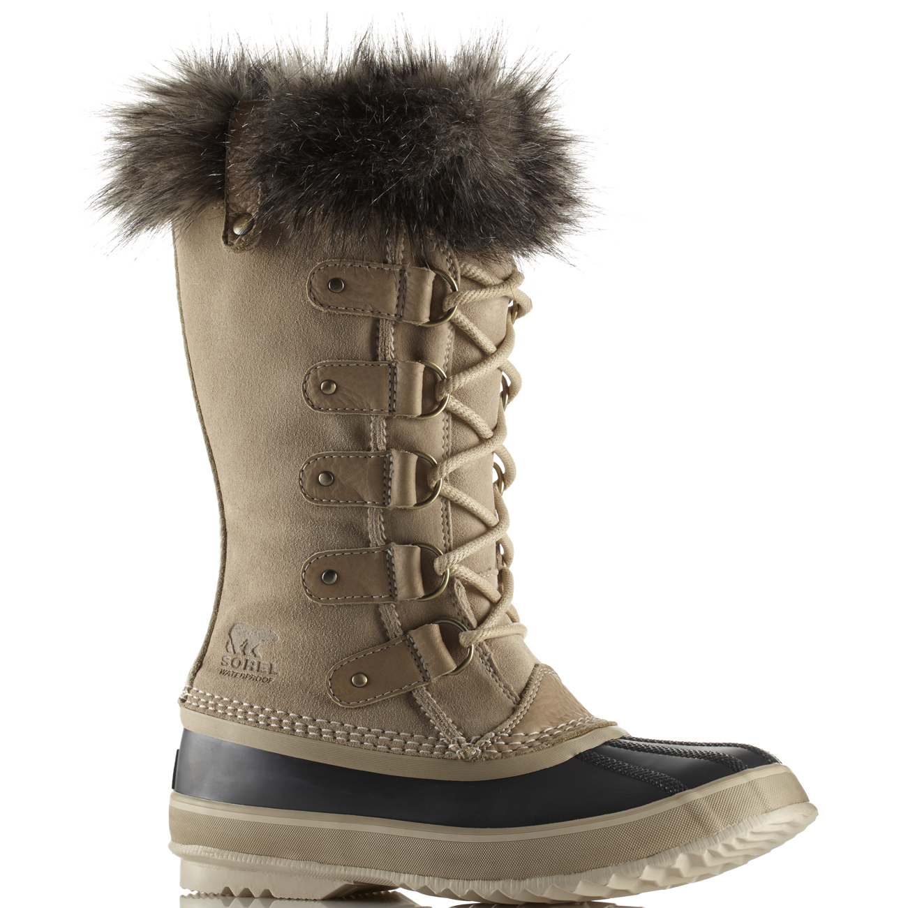 damen Sorel Sorel Sorel Joan Of Arctic Snow Fur Waterproof Rain Calf Winter Stiefel US 5-11 45dfaf