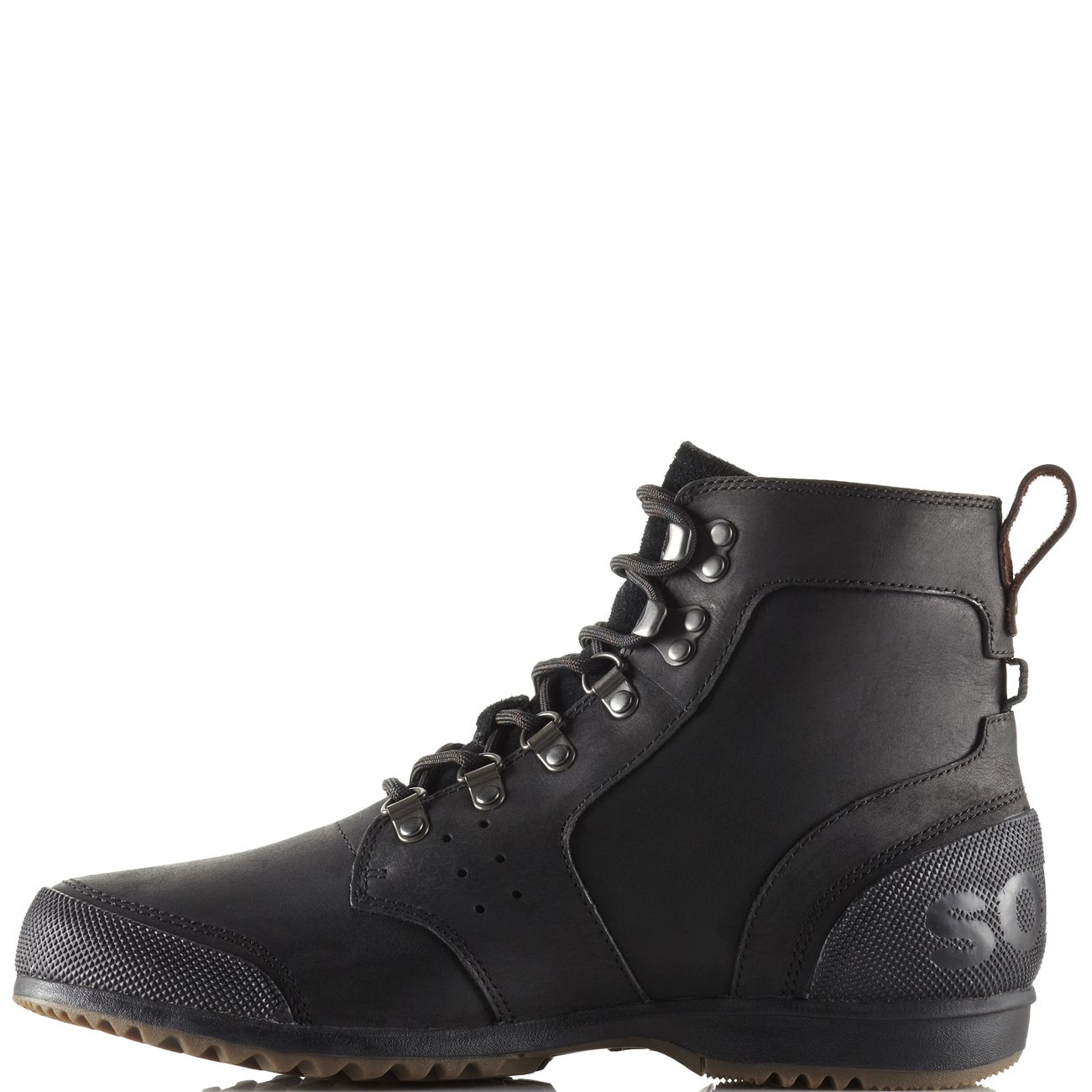 e032853451c Details about Mens Sorel Ankeny Mid Hiker Snow Waterproof Lace Up Winter  Ankle Boots US 8-13