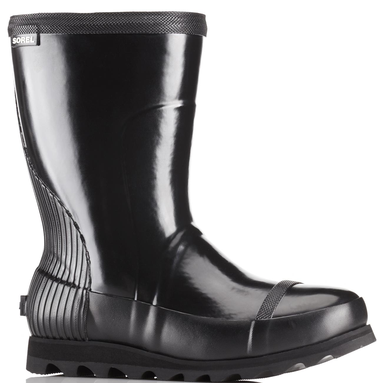 Damenschuhe Sorel Waterproof Joan Rain Short Gloss Waterproof Sorel Winter Stiefel Wellingtons US 5-11 ef01fd