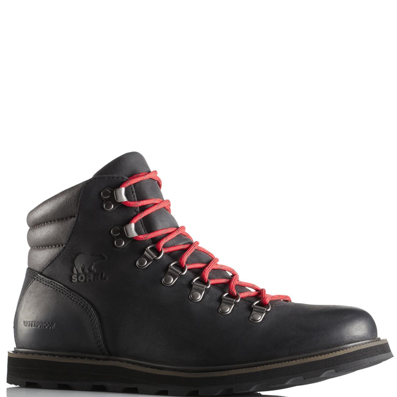 9bf70c6d9f4 Details about Mens Sorel Madson Hiker Leather Waterproof Walking Hiking  Ankle Boots US 8-14