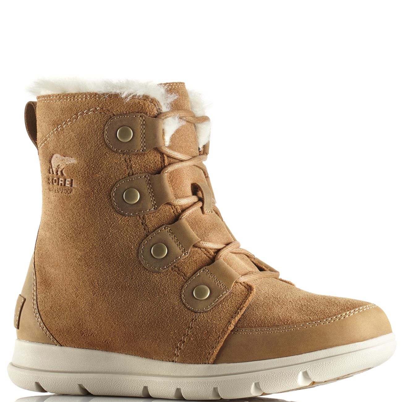 d52c92276f6 Womens Sorel Explorer Joan Snow Suede Rain Winter Ankle Waterproof Boots US  5-11