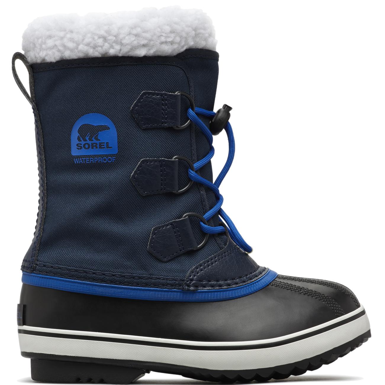 aceae9eddbb61 Unisex Kids Sorel Youth Pac Nylon Fur Lined Waterproof Ankle Snow Boots US 1 -7