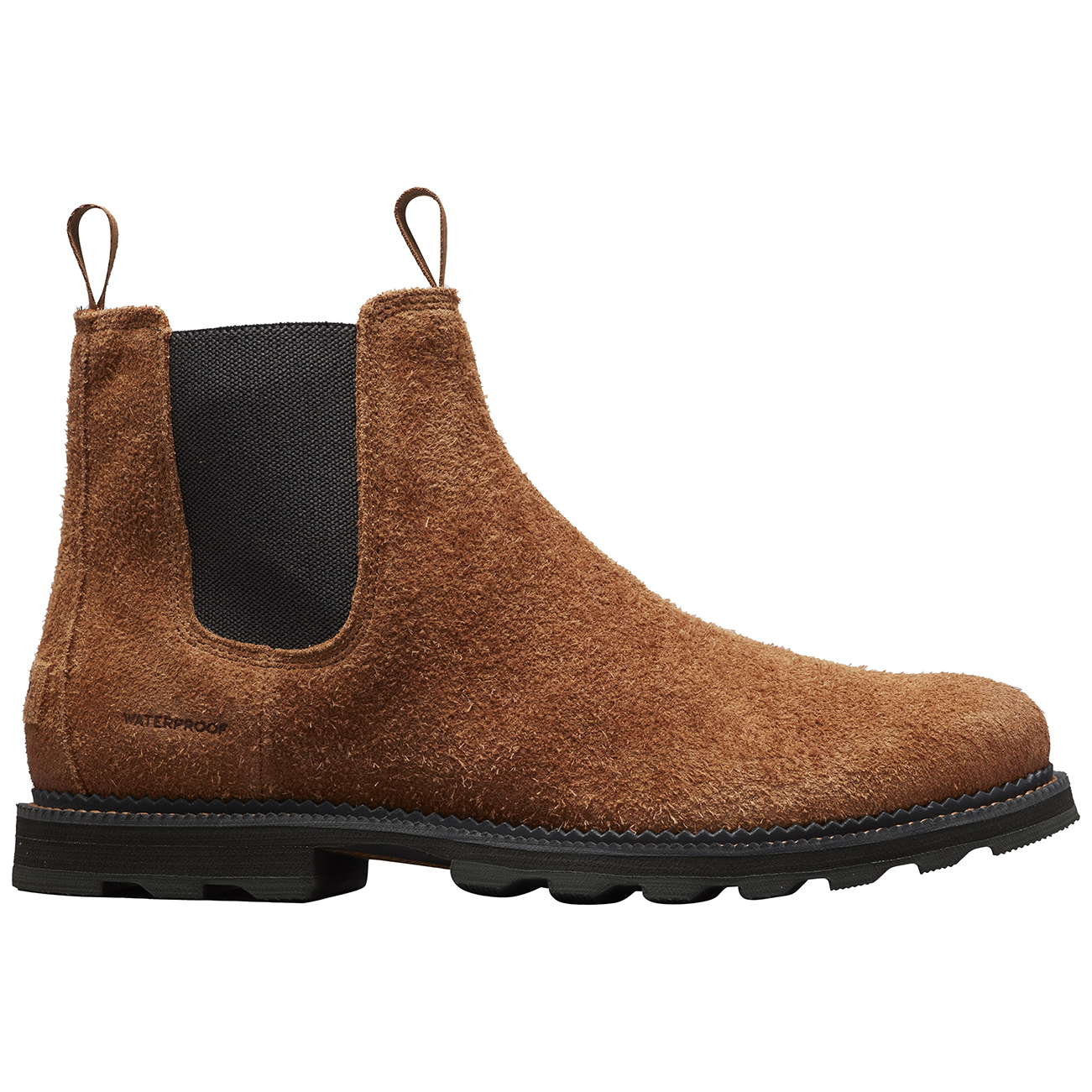 Details about Mens Sorel Madson Chelsea WP Rubber Sole Seam Sealed Waterproof Boots US 8 14