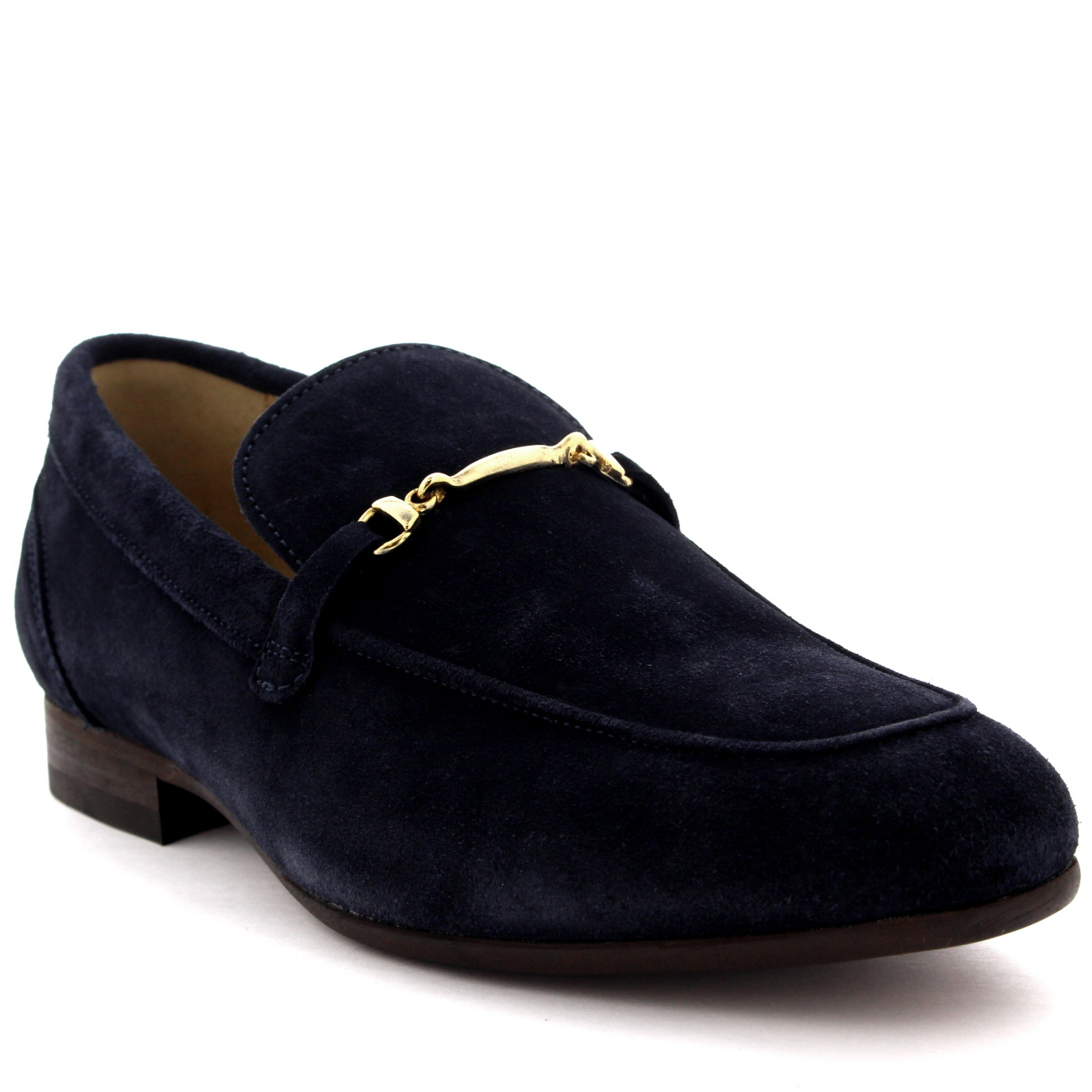 5e50a80258ec Details about Mens H By Hudson Navarre Suede Smart Work Shoes Office Slip  On Loafers US 7-13