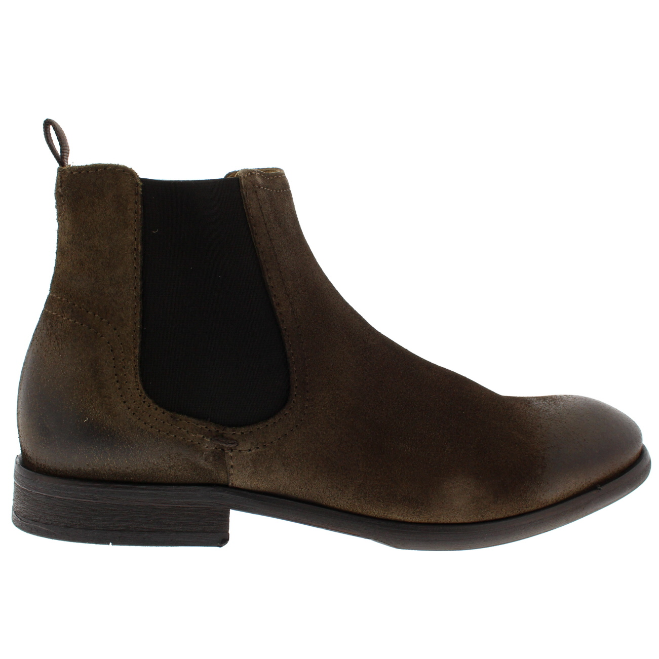 Details about Mens H By Hudson Entwhistle Calf Work Smart Office Suede Chelsea Boots US 7 13