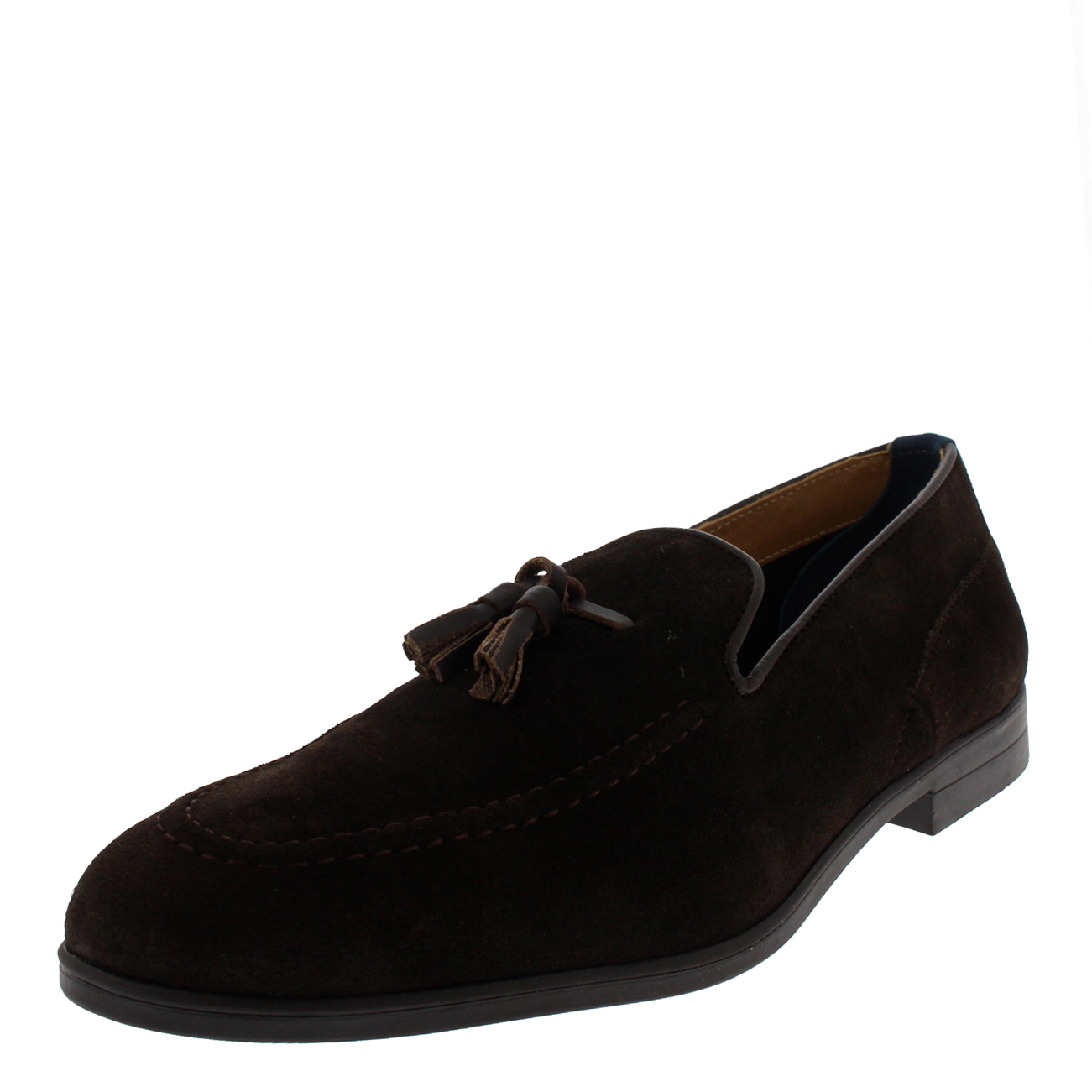 Uomo H By Hudson Office Dickson Loafer Smart Flat Office Hudson Work Casual Suede Schuhe US 7-13 f56d82