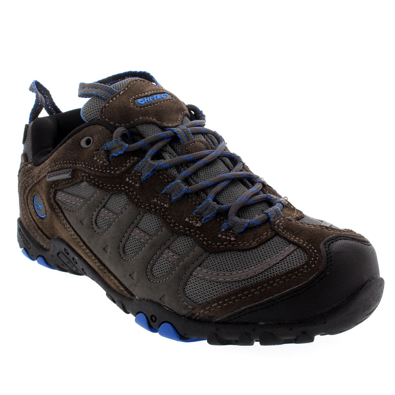 Mens Hi-Tec Penrith Low Hiking Walking Waterproof Outdoors Trail Sneaker