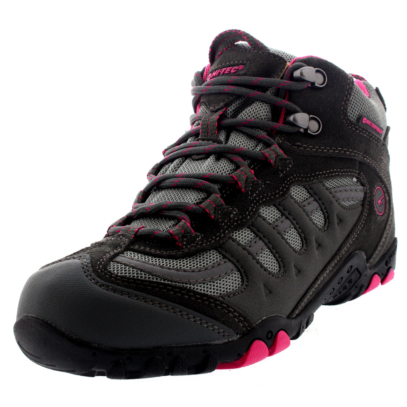 4332bc79c Details about Womens Hi-Tec Penrith Mid Walking Waterproof Ankle Boots  Hiking Trainers US 5-10