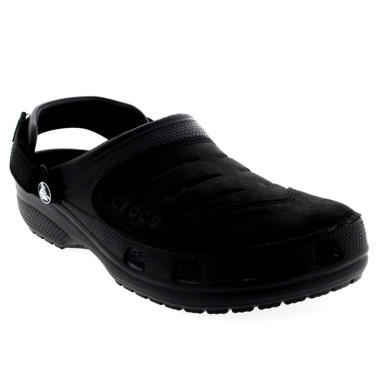 Mens Crocs Yukon Slip On Beach Lightweight Casual Clogs