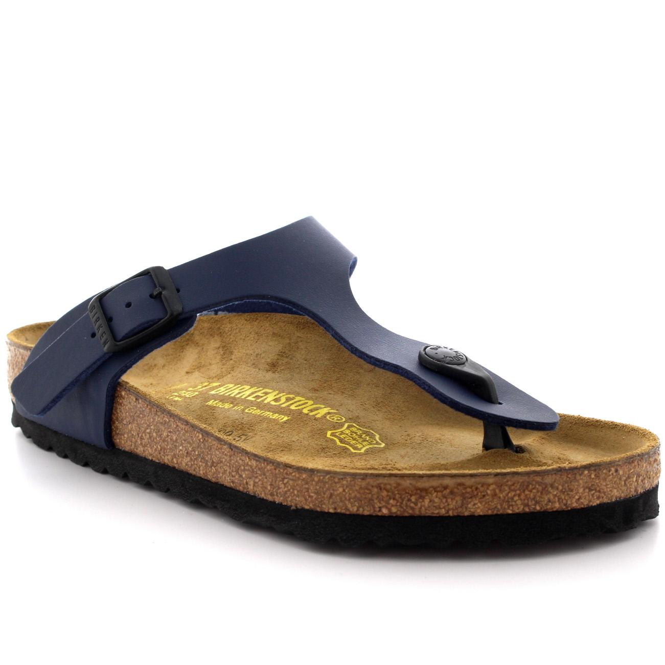 Birkenstock GIZEH - T-bar sandals - black CBXjVm5m
