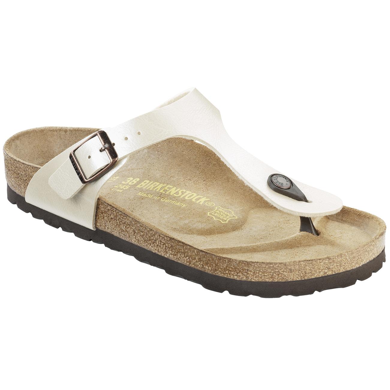 d8d7c5465275 Womens Birkenstock Gizeh Birko-Flor Beach Holiday Summer Flat Flip Flops US  5-11