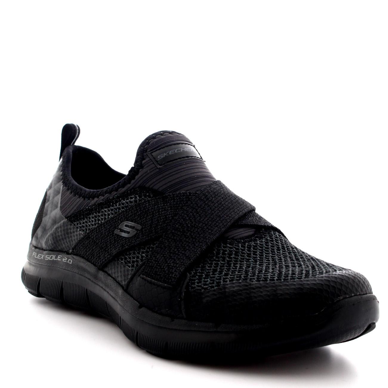 New Womens Skechers Slip On Sneakers Memory Foam 6