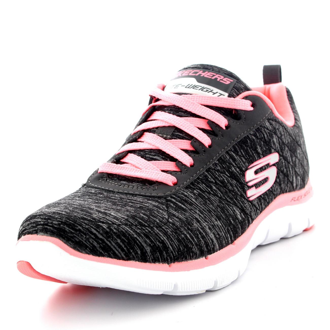 ed949560d22f0 Womens Skechers Flex Appeal 2.0 Walking Gym Memory Foam Running ...