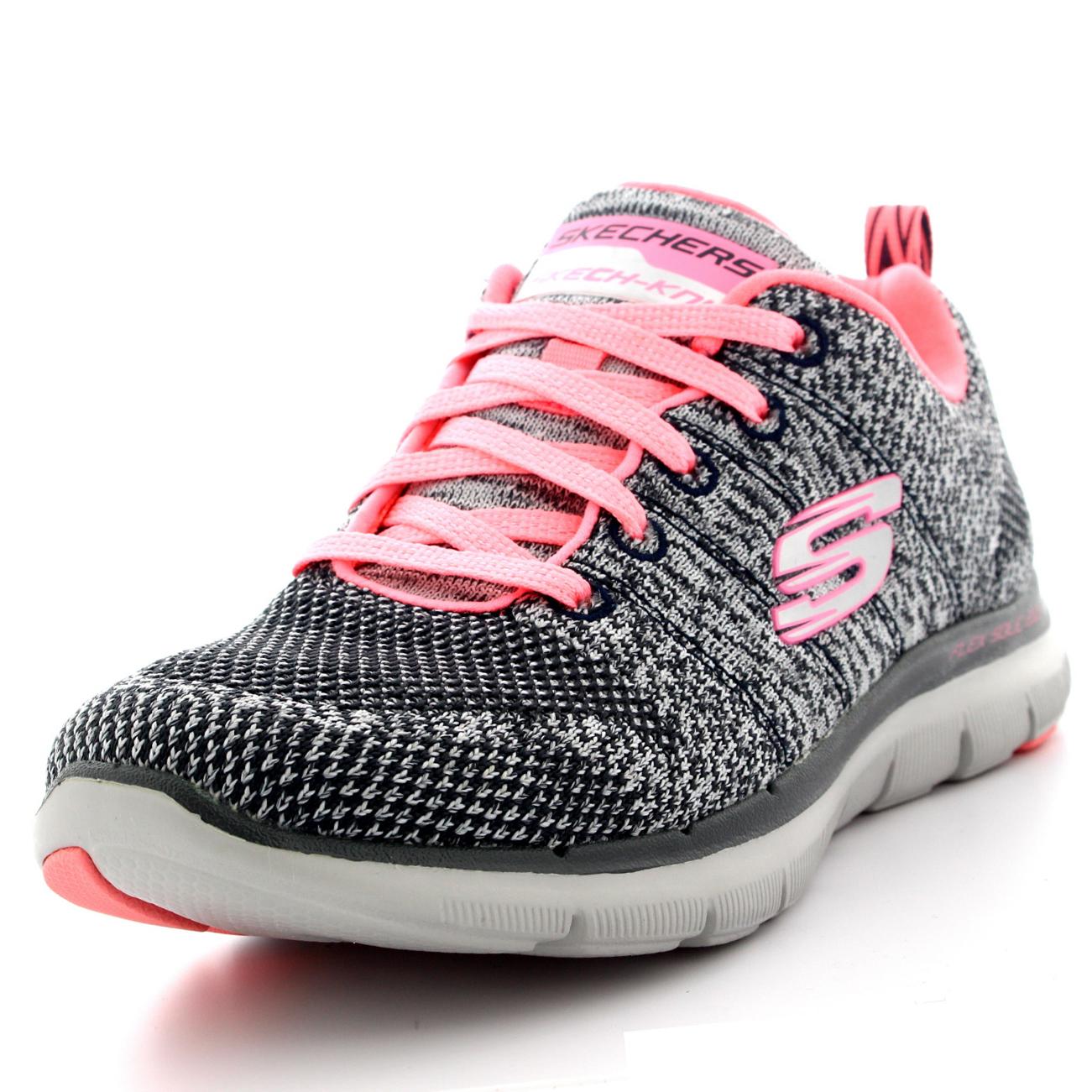 1705ff92c Womens Skechers Flex Appeal 2.0 High Energy Running Gym Walking Sneakers US  6-11