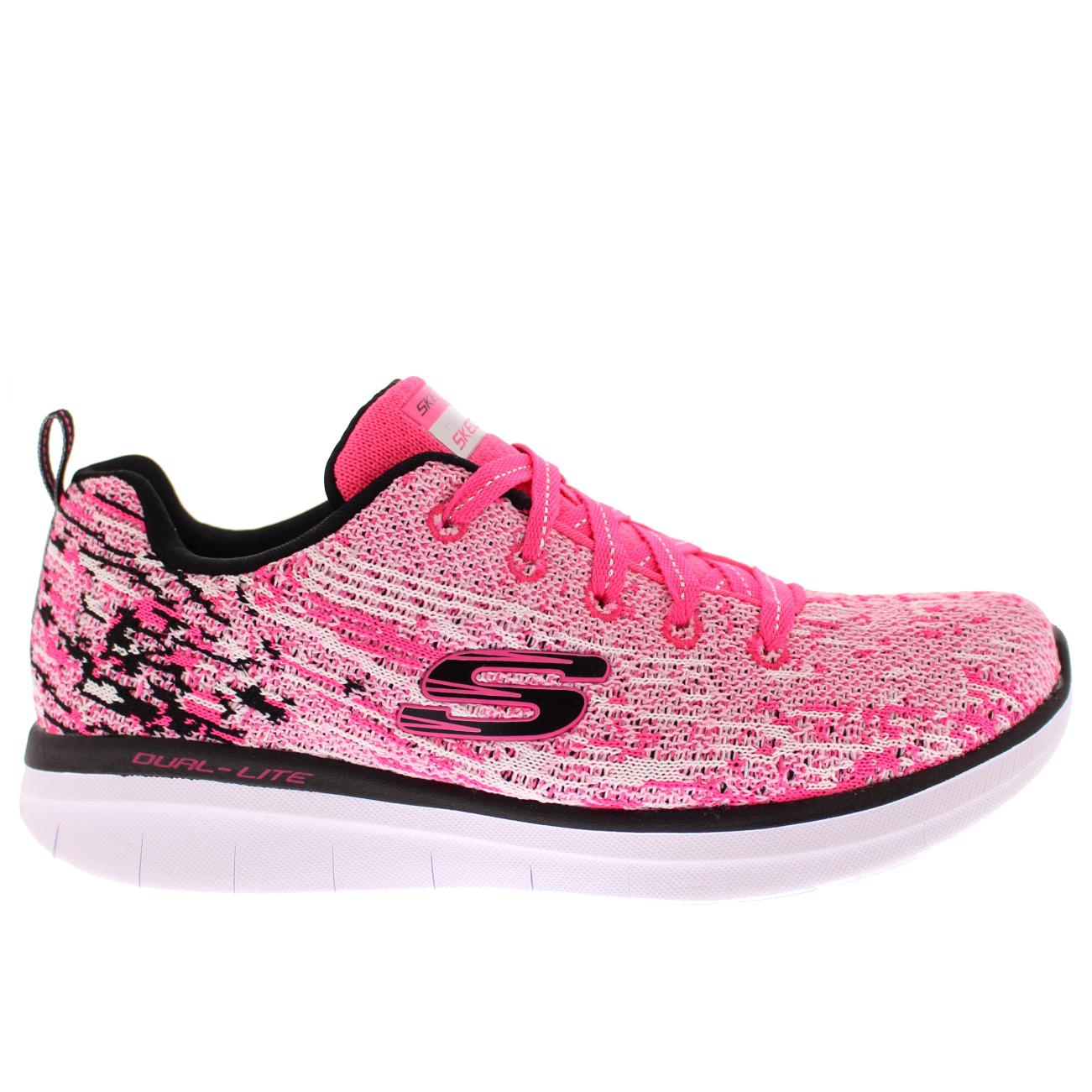 Skechers Women's Synergy 2.0 High Spirits Pink Black