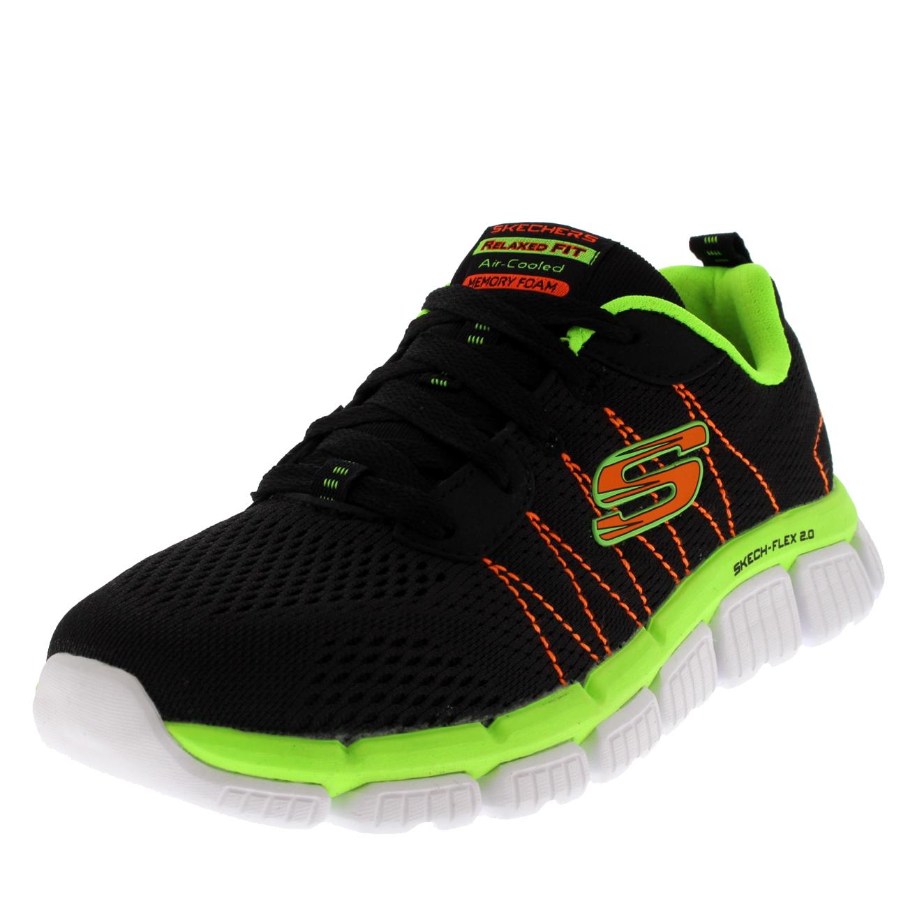 7900b779e107 Details about Kids Boys Skechers Skech Flex 2.0 Quick Pick Memory Foam  Sport Sneaker US 10.5-7