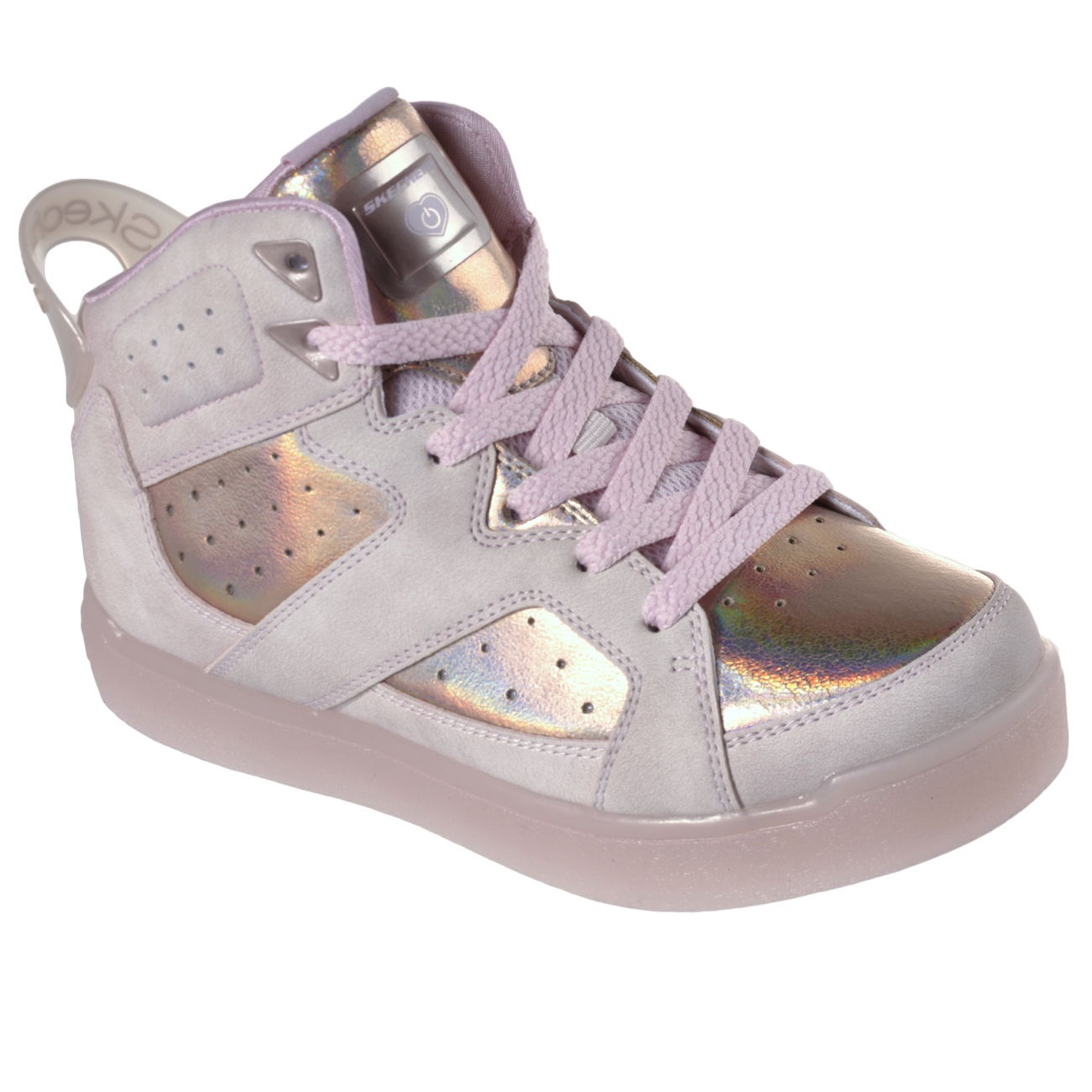 dca477341d64 Details about Kids Girls Skechers Energy Lights E Pro II Lavish Lights  Party Sneaker US 10.5-7