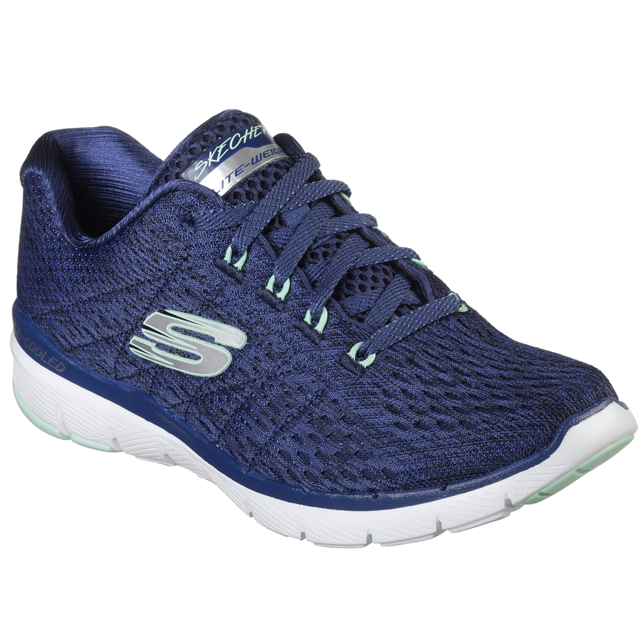damen Skechers Flex Appeal 3.0 Satellites Lightweight Lightweight Lightweight Walking Turnschuhe US 6-11 be4cd4
