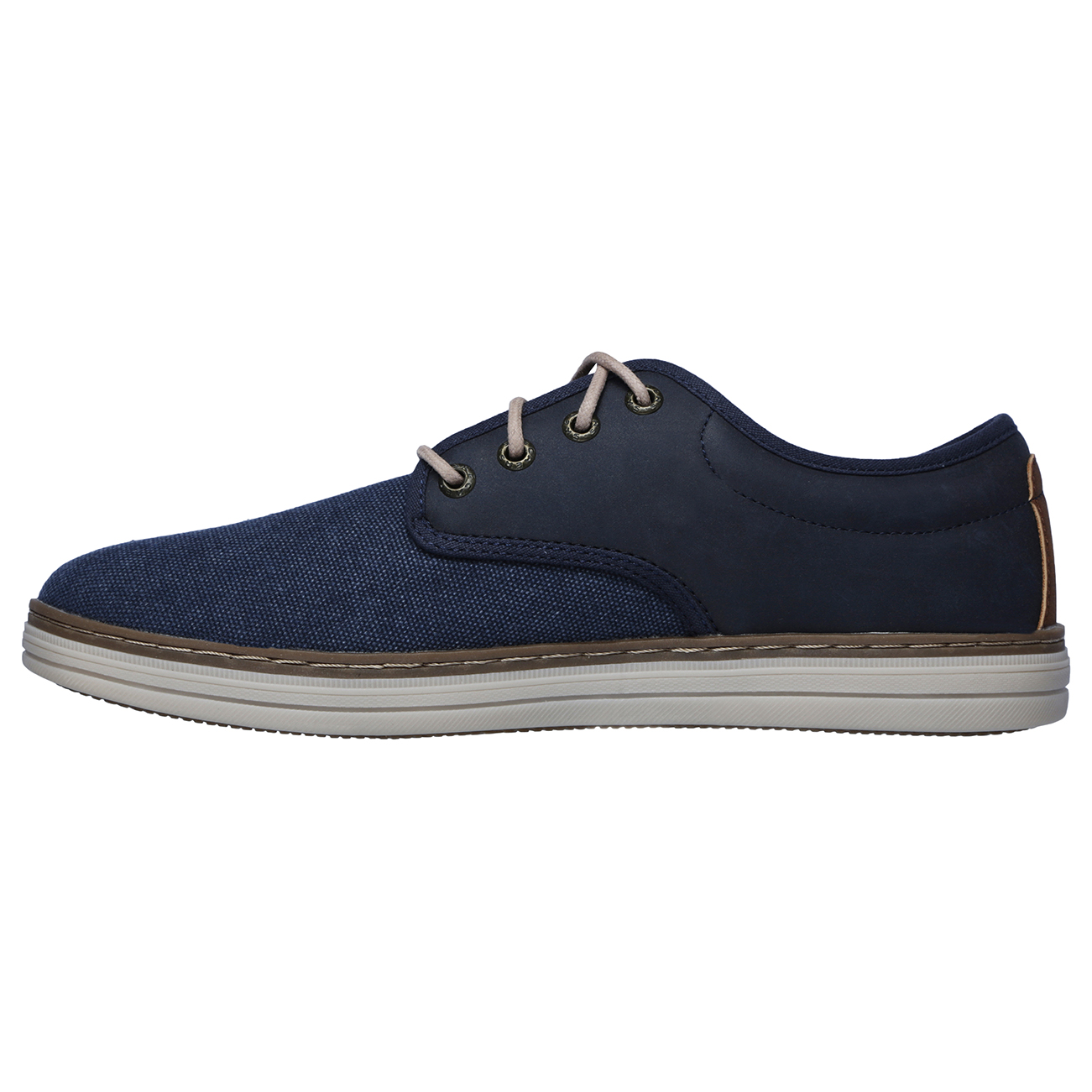 better authentic half price Details about Mens Skechers Heston Santano Memory Foam Smart Canvas Work  Casual Shoes US 8-14