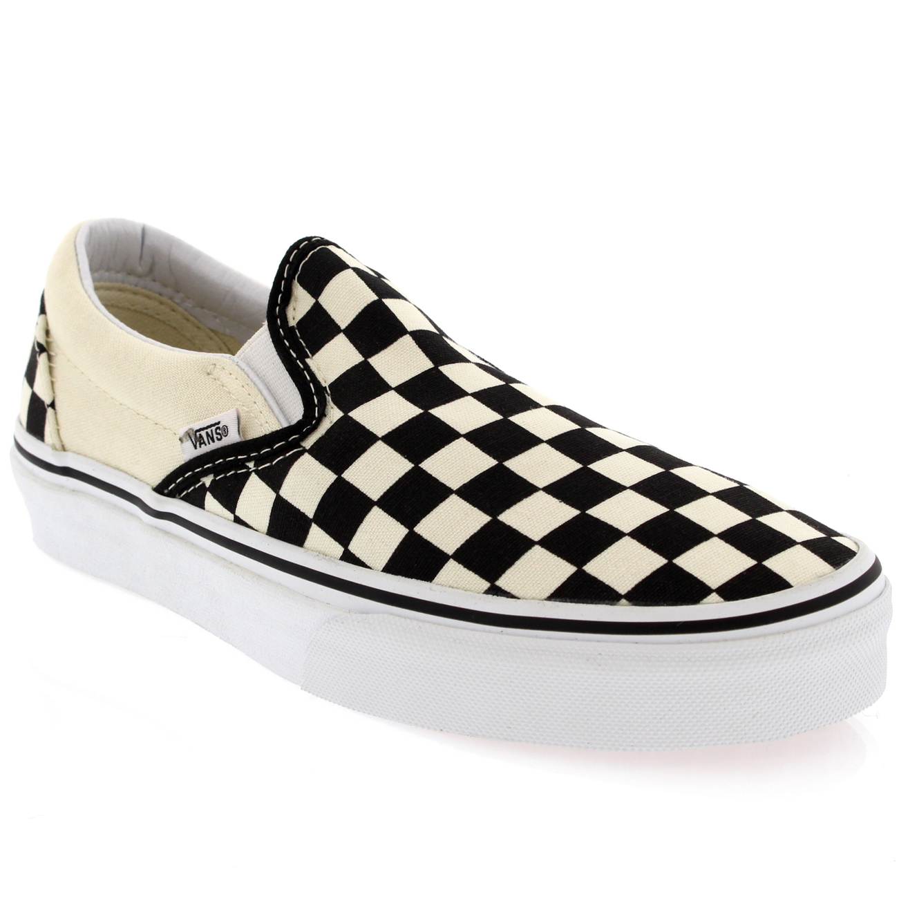 Womens Vans Classic Slip Canvas Slip On Sneakers Shoe ...