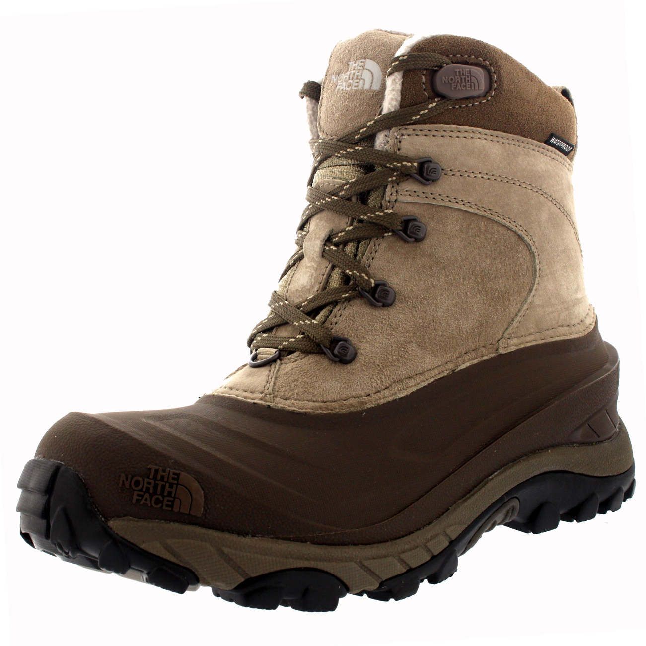 Mens The North Face Chilkat II Outdoor Waterproof Thermal Ankle Boots