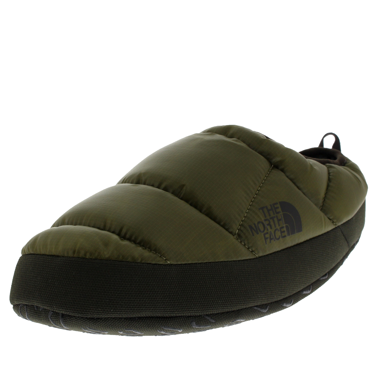 Picture 12 of 23 ...  sc 1 st  eBay & The North Face Nse Tent Mule III Mens Slip on Shiny Burnt Olive ...