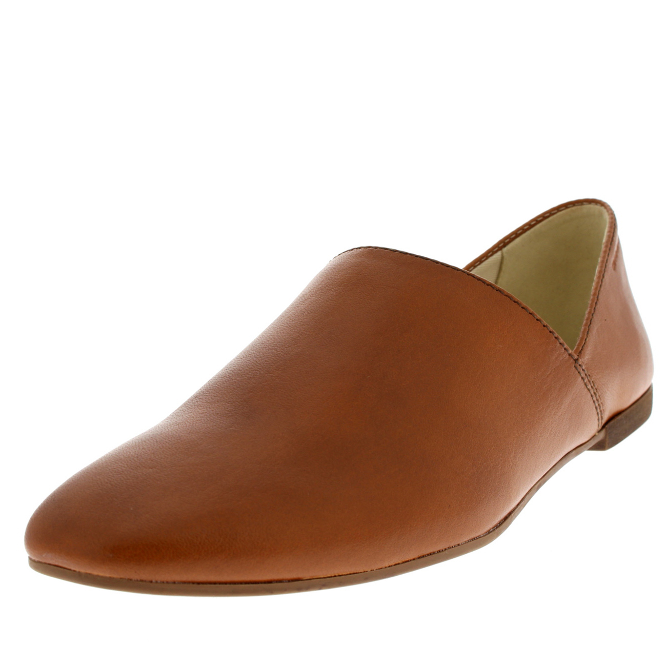Womens Vagabond Ayden Loafers Leather Smart Office Slip On Flat Shoes