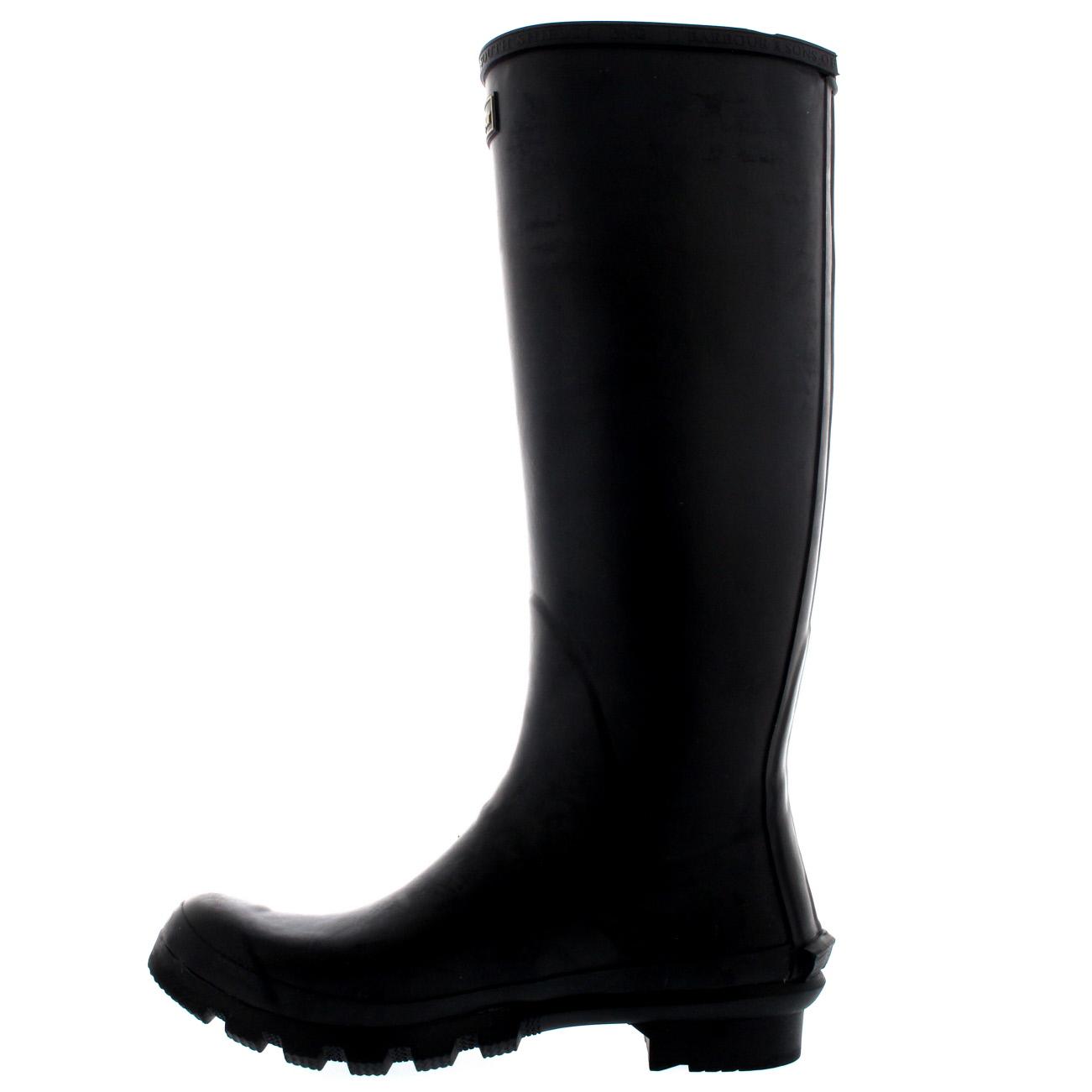 Womens-Barbour-Bede-Snow-Waterproof-Winter-Wellingtons-Mid-Calf-Boots-US-5-11 thumbnail 11