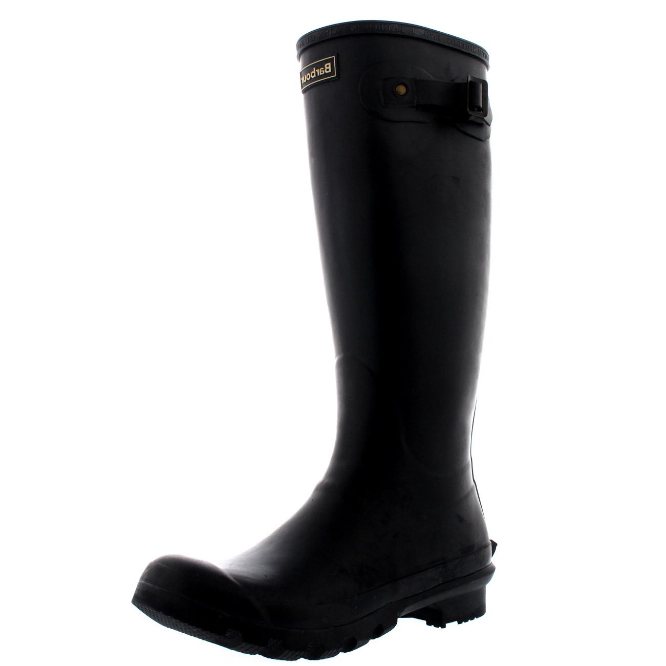 Womens-Barbour-Bede-Snow-Waterproof-Winter-Wellingtons-Mid-Calf-Boots-US-5-11 thumbnail 12