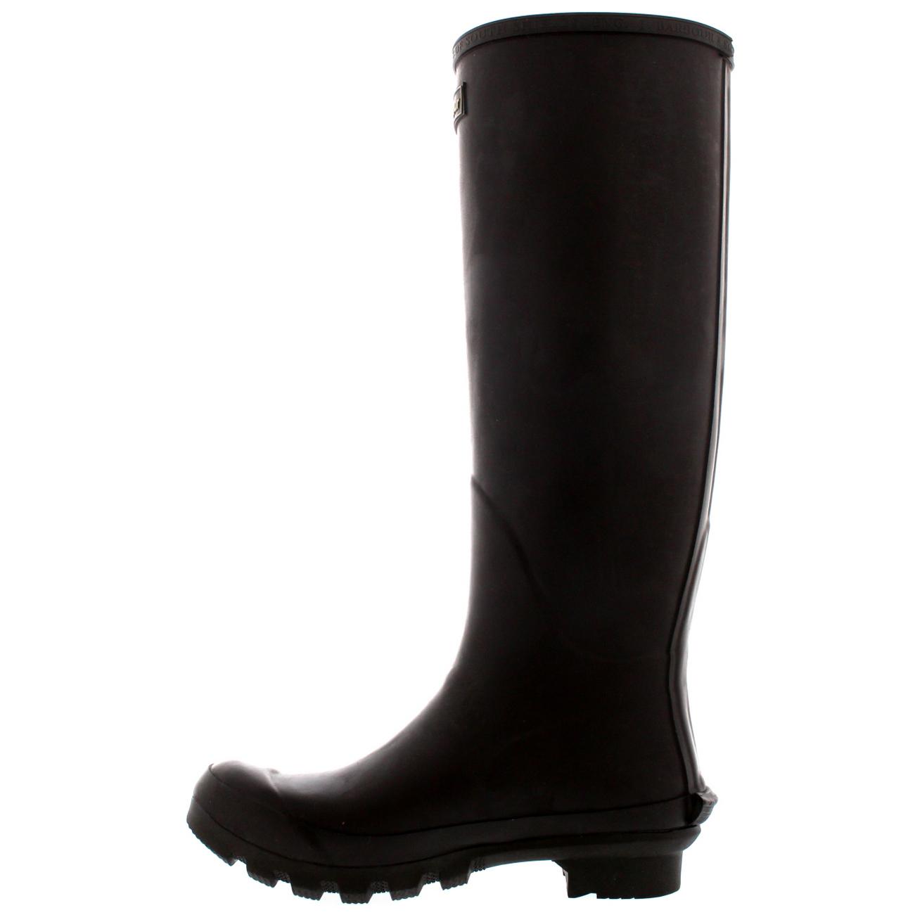 Womens-Barbour-Bede-Snow-Waterproof-Winter-Wellingtons-Mid-Calf-Boots-US-5-11 thumbnail 15