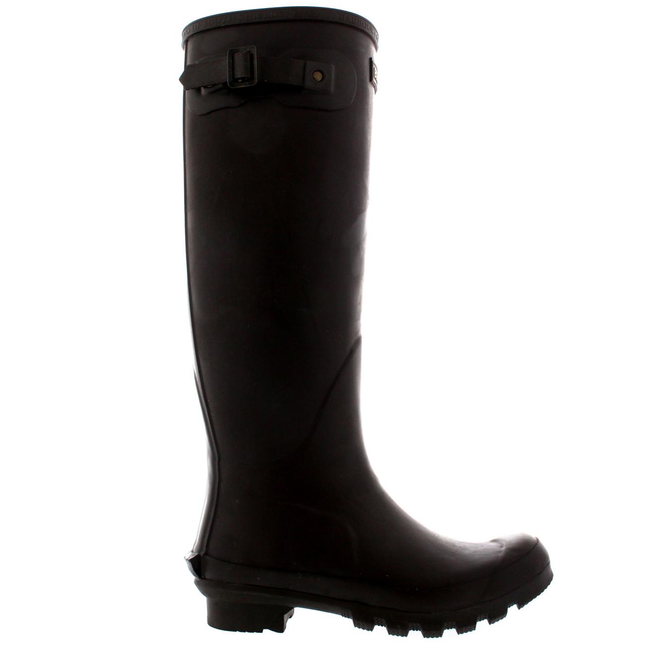 Womens-Barbour-Bede-Snow-Waterproof-Winter-Wellingtons-Mid-Calf-Boots-US-5-11 thumbnail 17